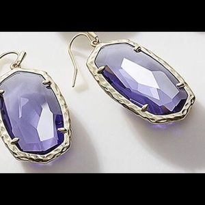 Kendra Scott Ella earrings in Lolite $75